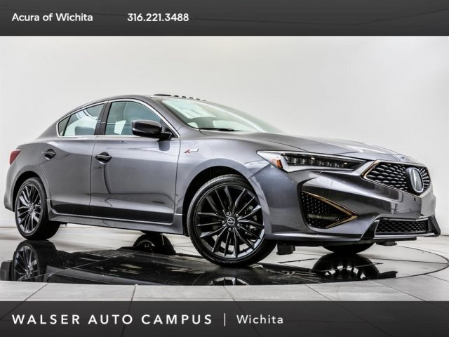 New 2019 Acura ILX Prem A-Spec, 18 Whls BT, Blnd Spt, CarPlay