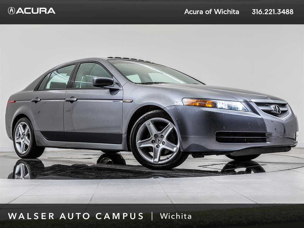 Pre-Owned 2005 Acura TL Leather, Moonroof, Alloy Wheels,