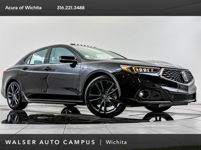 New 2020 Acura Tlx 4dr Car In Wichita 51ab109n Walser Auto Campus