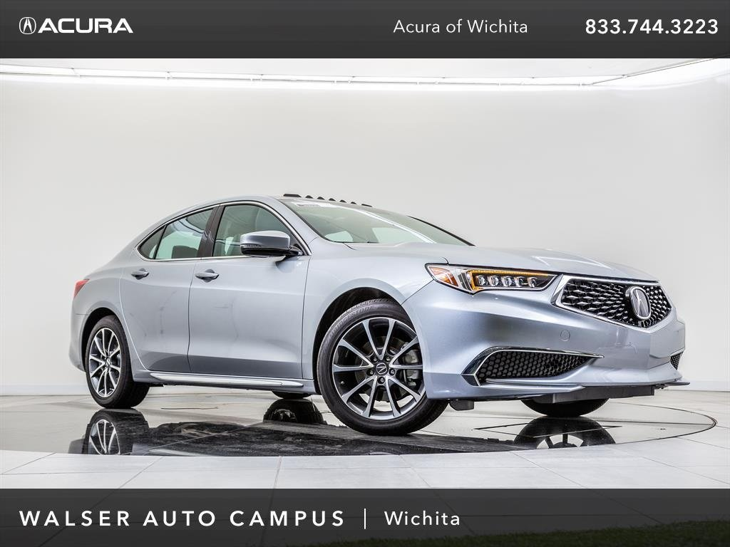 New 2018 Acura TLX w/Technology Package FWD 4dr Car
