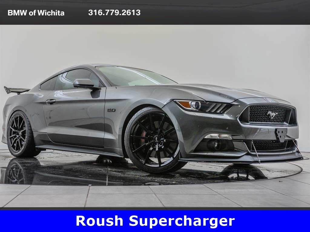 Pre-Owned 2017 Ford Mustang GT Premium, Roush Supercharger, Roush Exhaust  RWD 2dr Car