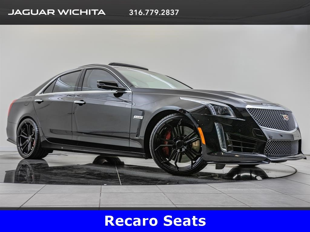 Pre-Owned 2017 Cadillac CTS-V Sedan Luxury Package, Recaro Seats