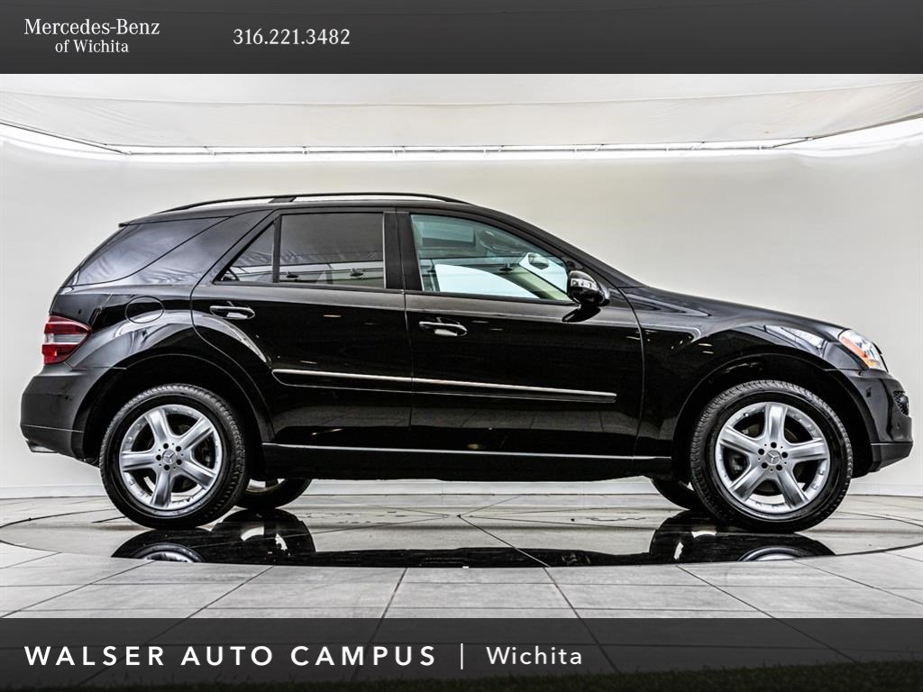 Pre-Owned 2007 Mercedes-Benz M-Class ML350, Factory Sport Wheel Upgrade AWD  4MATIC®