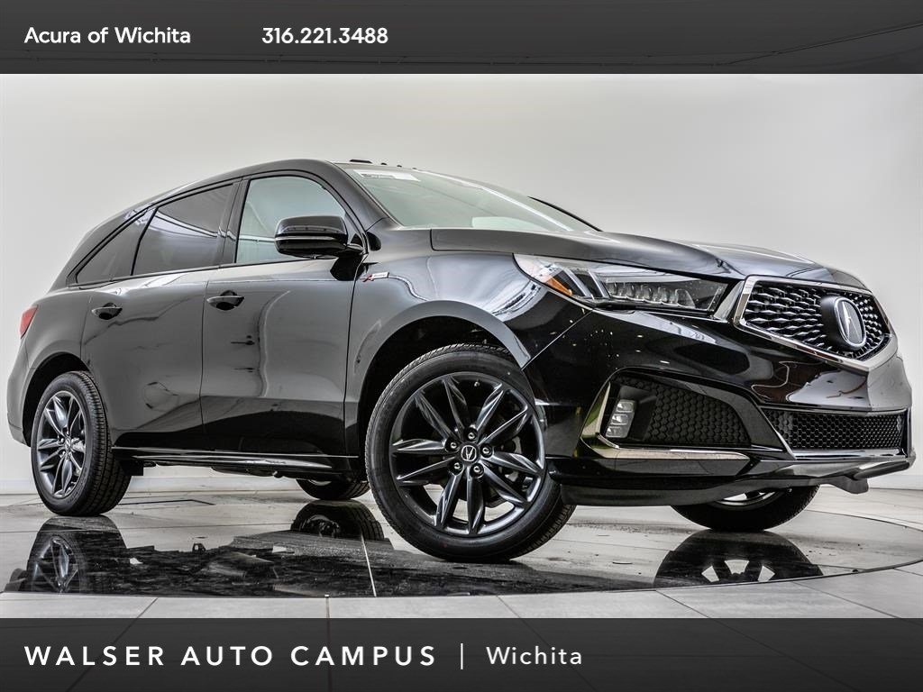 New 2019 Acura Mdx Tech A Spec Sh Awd Bt Blnd