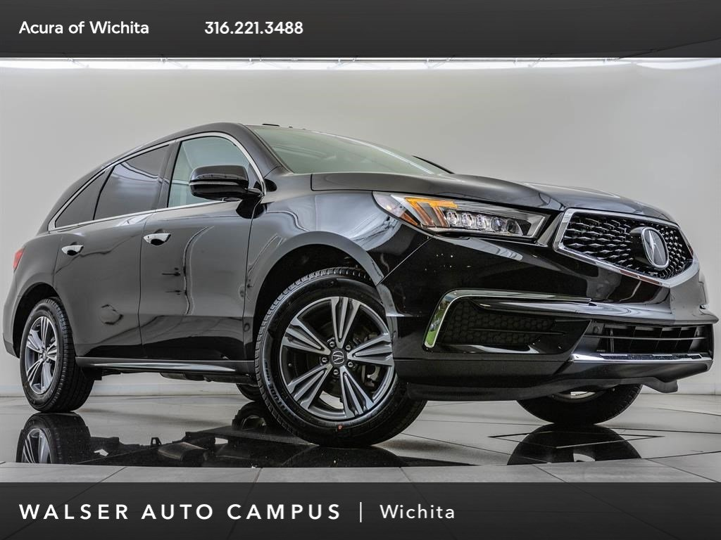 New 2019 Acura MDX SH-AWD, BT, Apl CrPly, And Auto, Ln Kp AWD