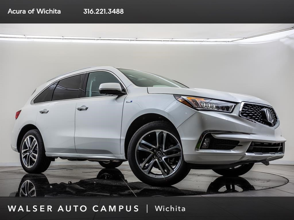 New 2019 Acura MDX Sport Hybrid w/Advance Pkg AWD