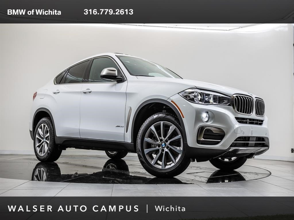 New 2018 Bmw X6 Xdrive35i Sport Utility In Wichita 53aa701n