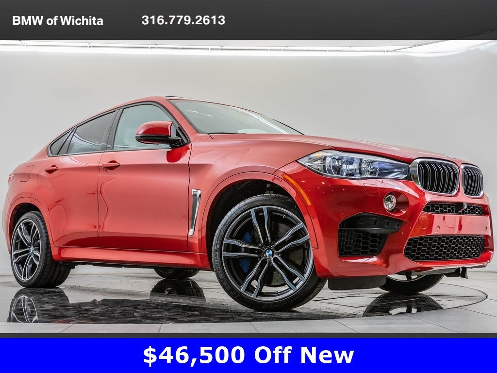Pre-Owned 2017 BMW X6 M 567HP, Executive Package