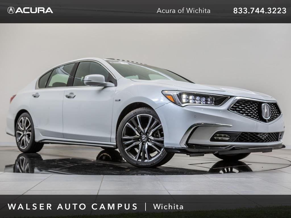 New 2018 Acura RLX w/Advance Package With Navigation & AWD