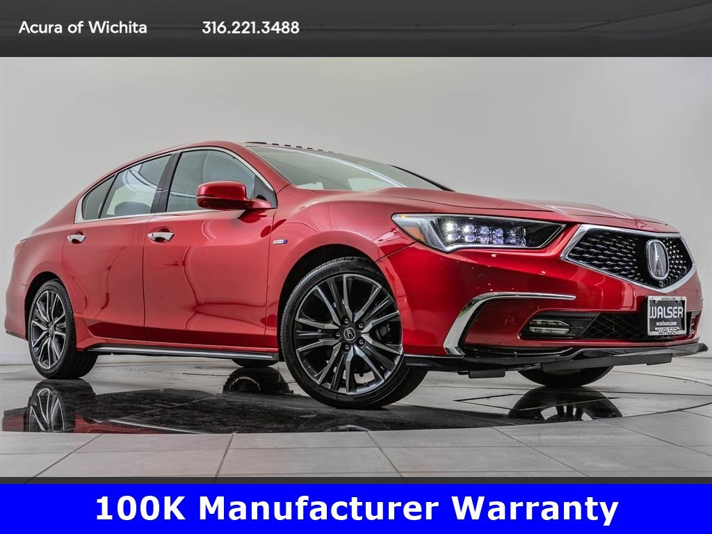 Certified Pre-Owned 2018 Acura RLX Sport Hybrid SH-AWD, $14,300 Off New