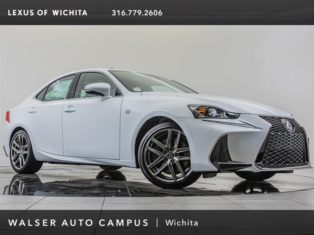 New 2019 Lexus IS 300 With Navigation & AWD