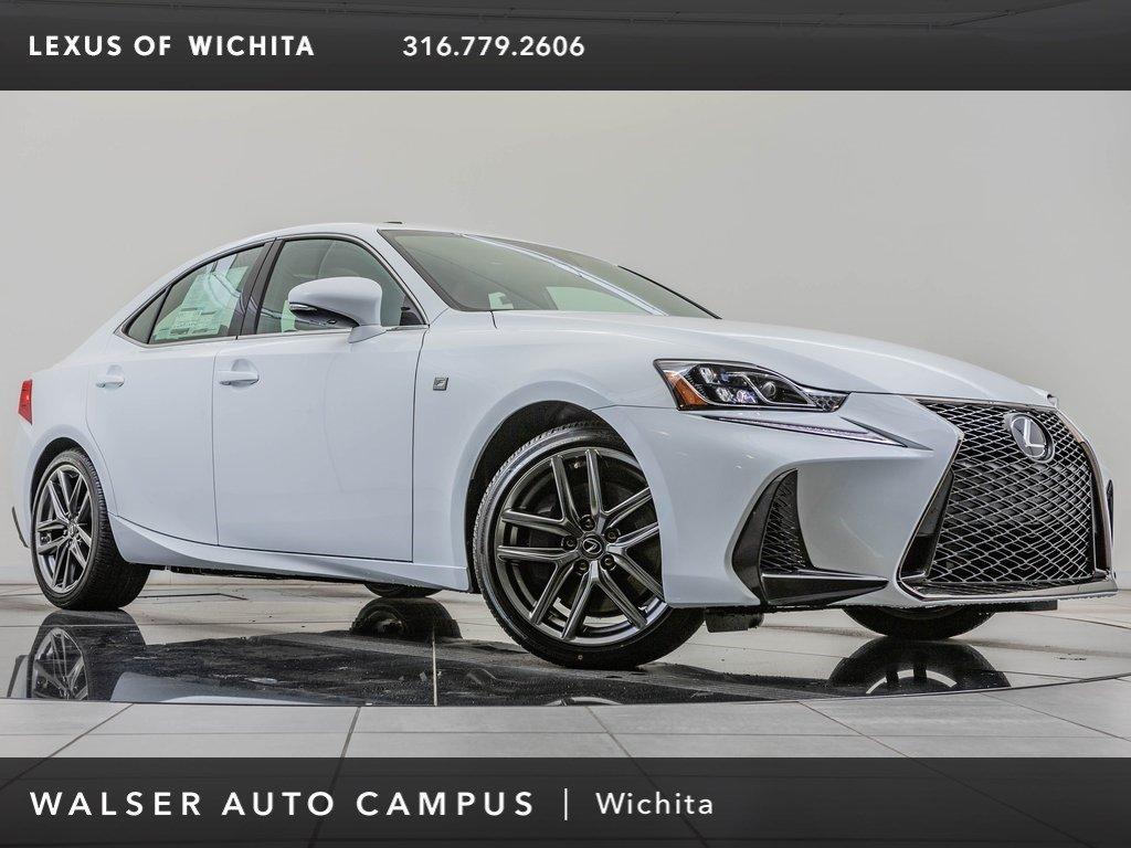 New 2019 Lexus IS 350 With Navigation & AWD