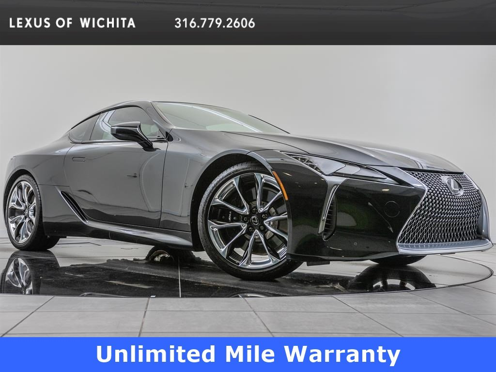 Pre Owned Factory >> Certified Pre Owned 2018 Lexus Lc Factory Wheel Upgrade Sport Package Rwd 2dr Car
