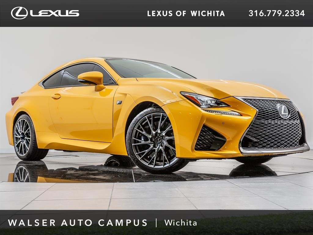 New 2018 Lexus RC F F RWD 2dr Car