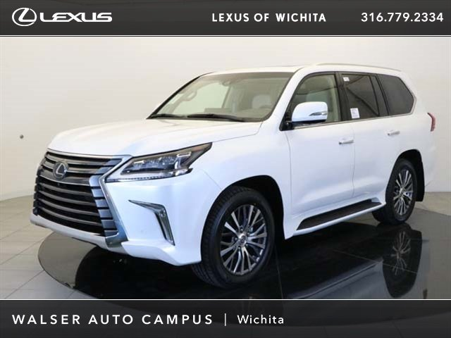 New 2018 Lexus LX 570 With Navigation & 4WD