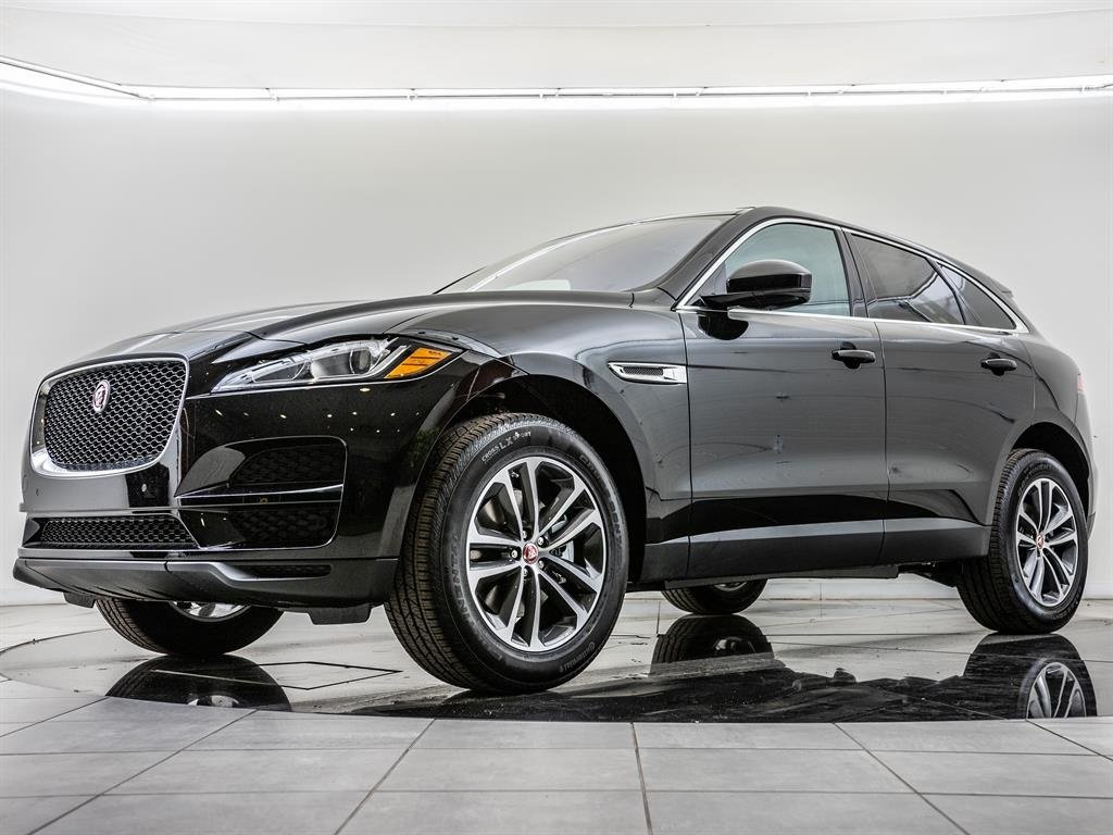 Certified Pre-Owned 2019 Jaguar F-PACE Factory Wheel Upgrade, Navigation, Cold Climate