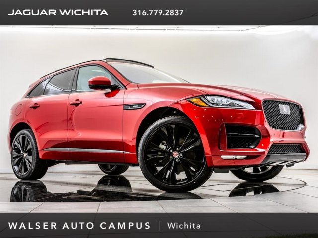 New 2019 Jaguar F Pace 30t R Sport Sport Utility In Wichita