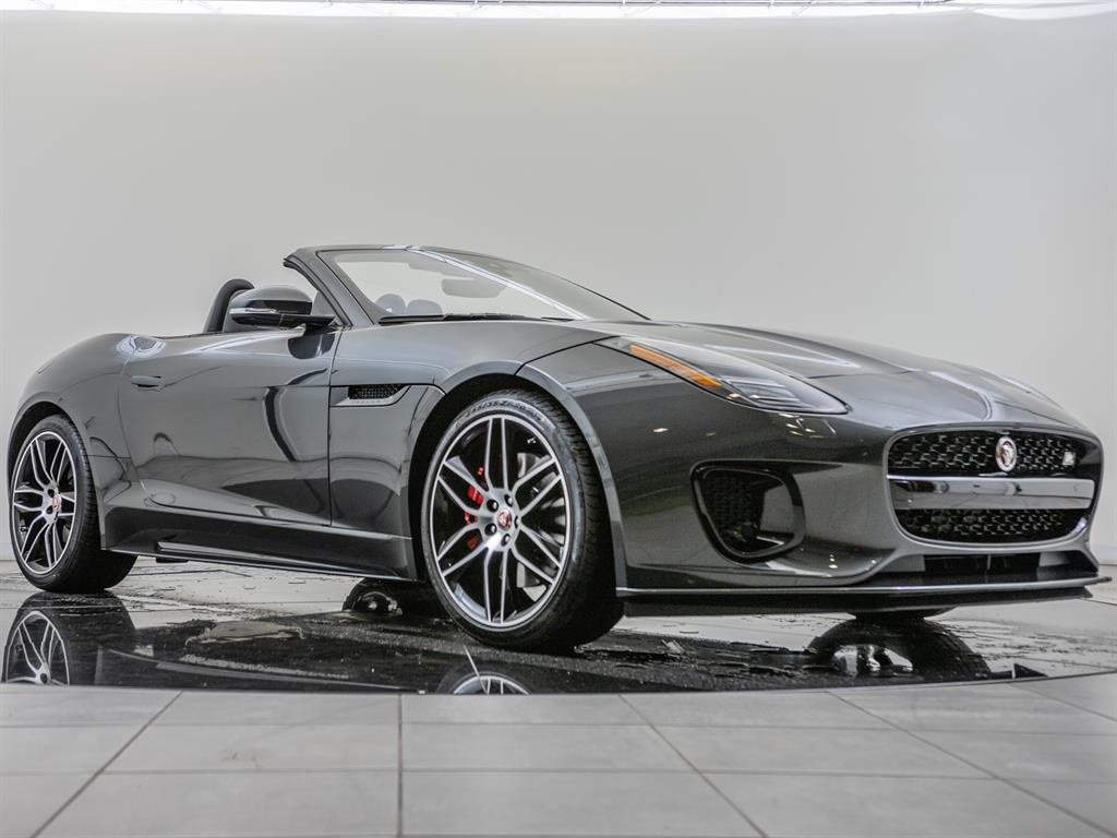 2020 Jaguar F-TYPE Convertible Auto Checkered Flag