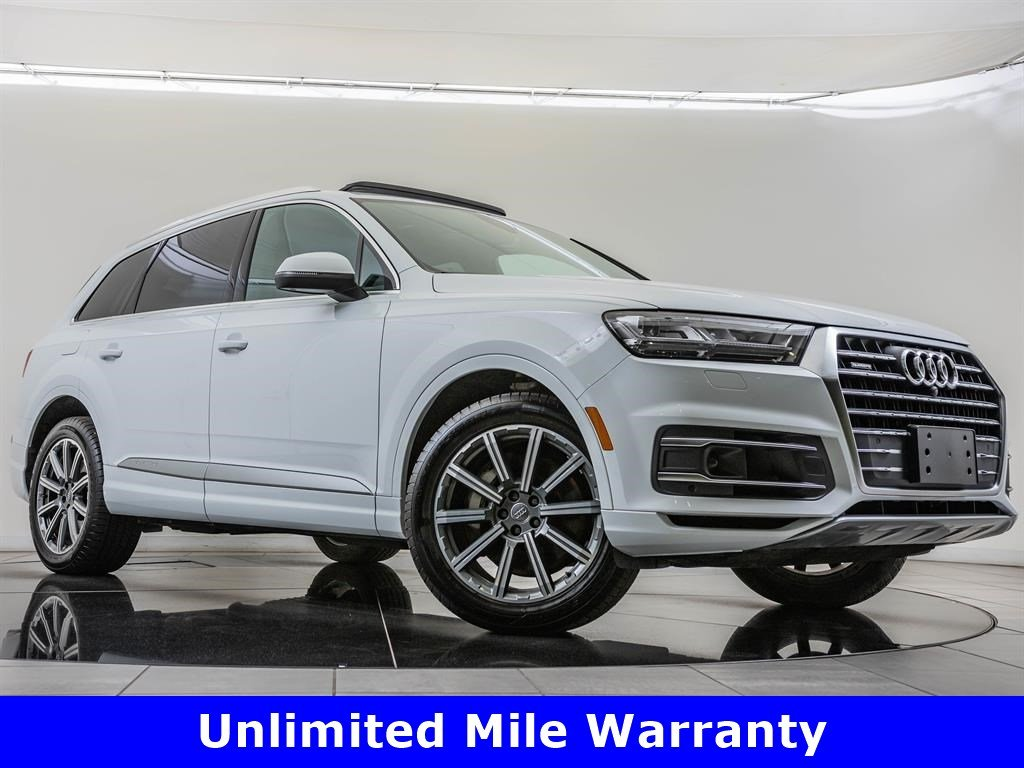 Certified Pre-Owned 2018 Audi Q7 3.0T Prestige quattro, 20-inch Wheels