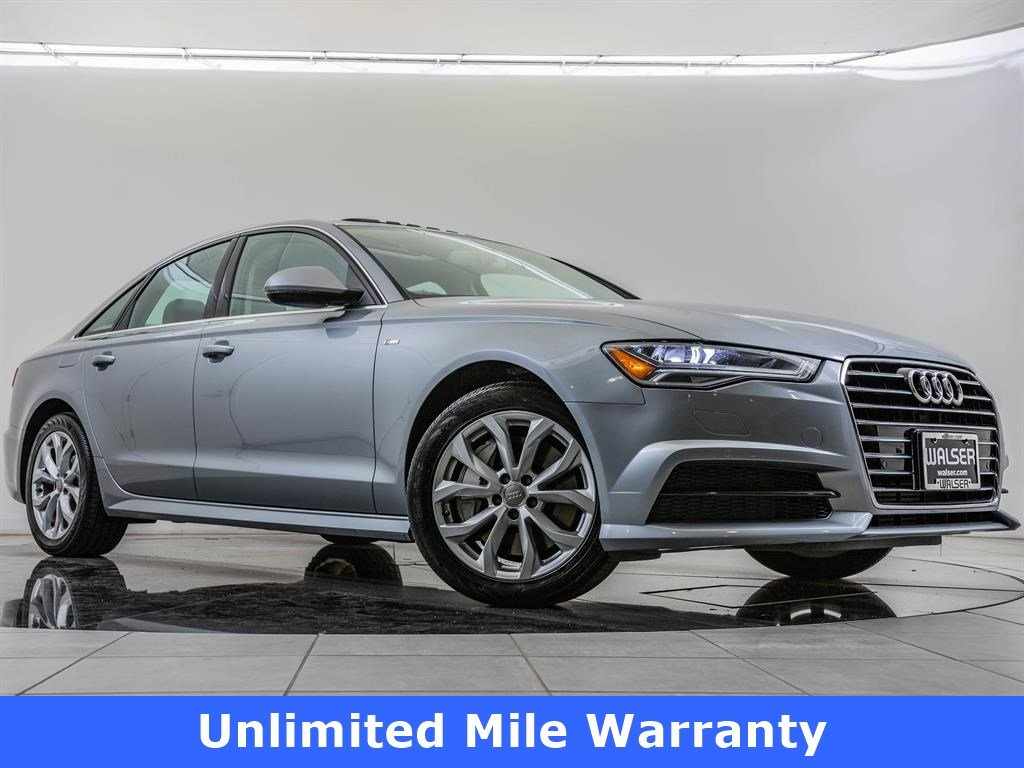 Certified Pre-Owned 2018 Audi A6 2018 AUDI A6 2.0T PREMIUM (S TRONIC) (NO LONGER AVAILABLE FOR ORDERING) 4DR SDN