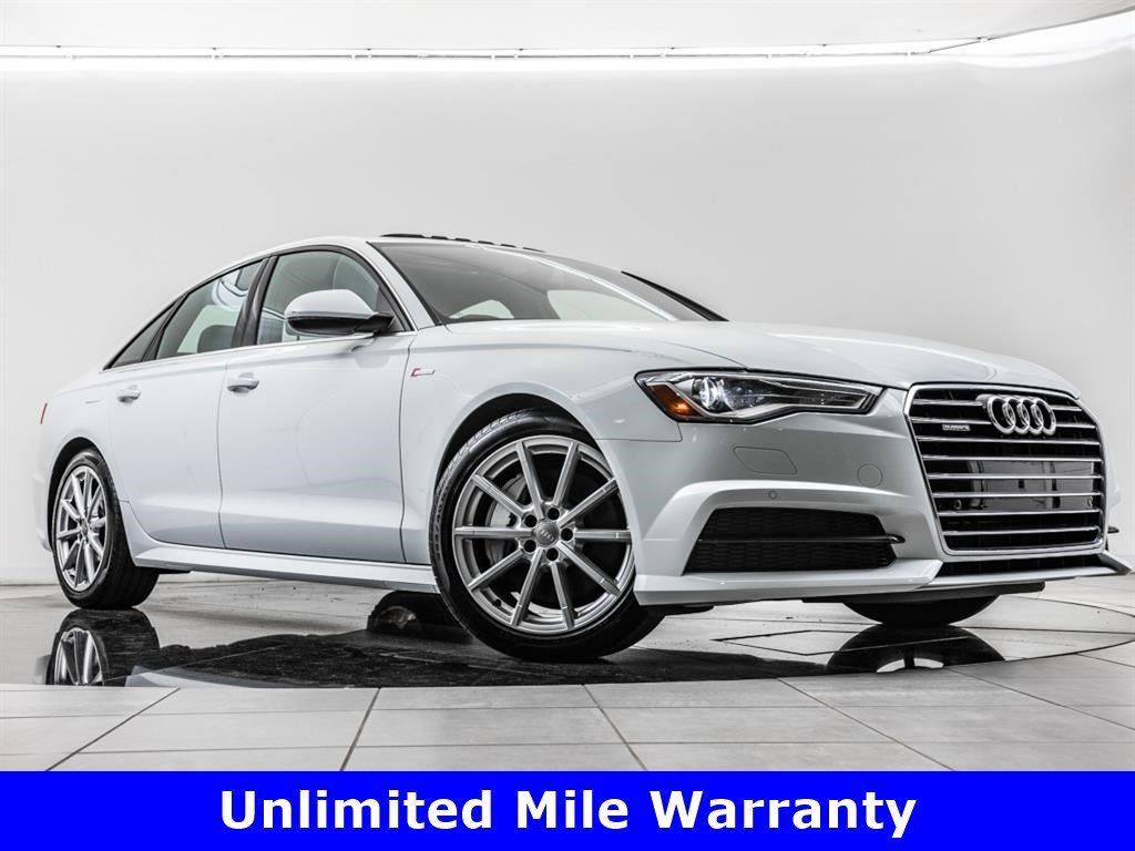 Certified Pre-Owned 2017 Audi A6 3.0T quattro, 19-Inch Whls, Sport Suspension