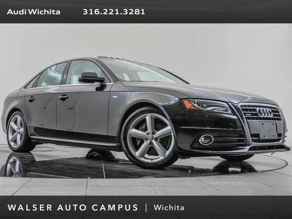 Pre-Owned 2012 Audi A4 AWD
