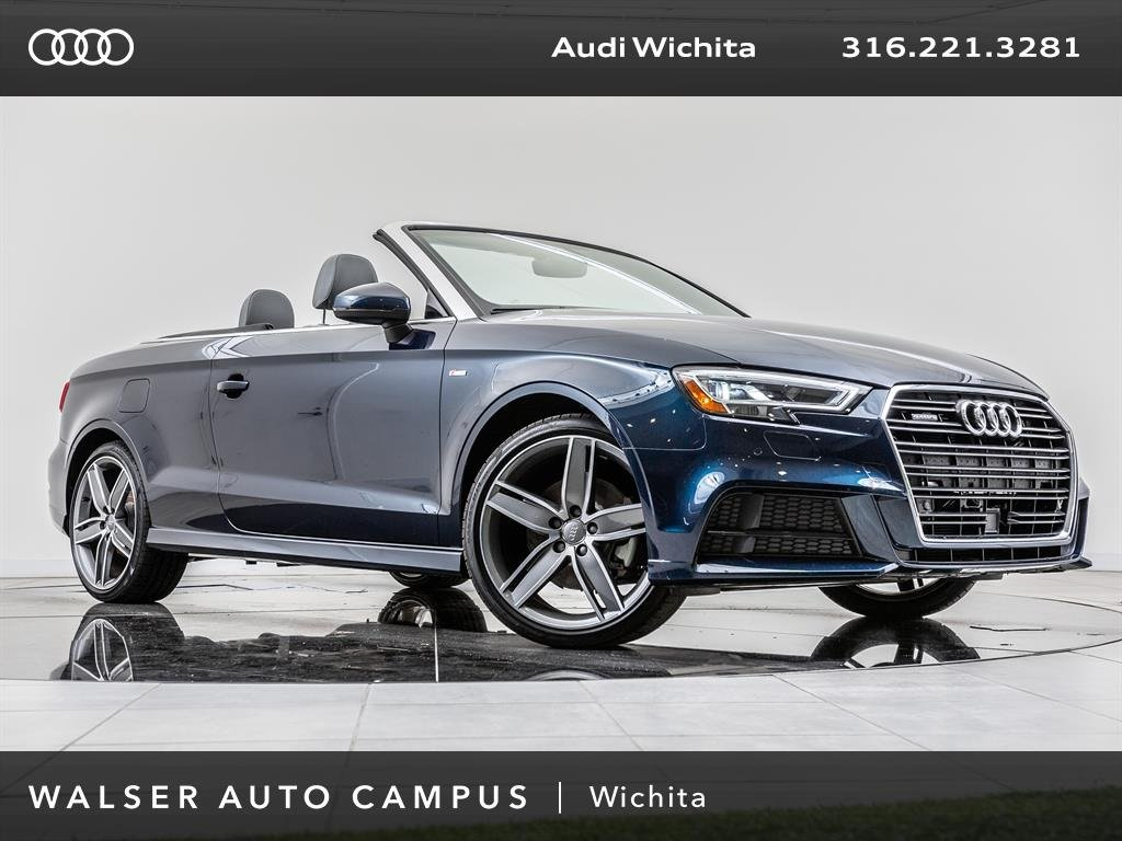 New Audi A Cabriolet Tech Premium Plus Convertible In Wichita - Audi a3 convertible