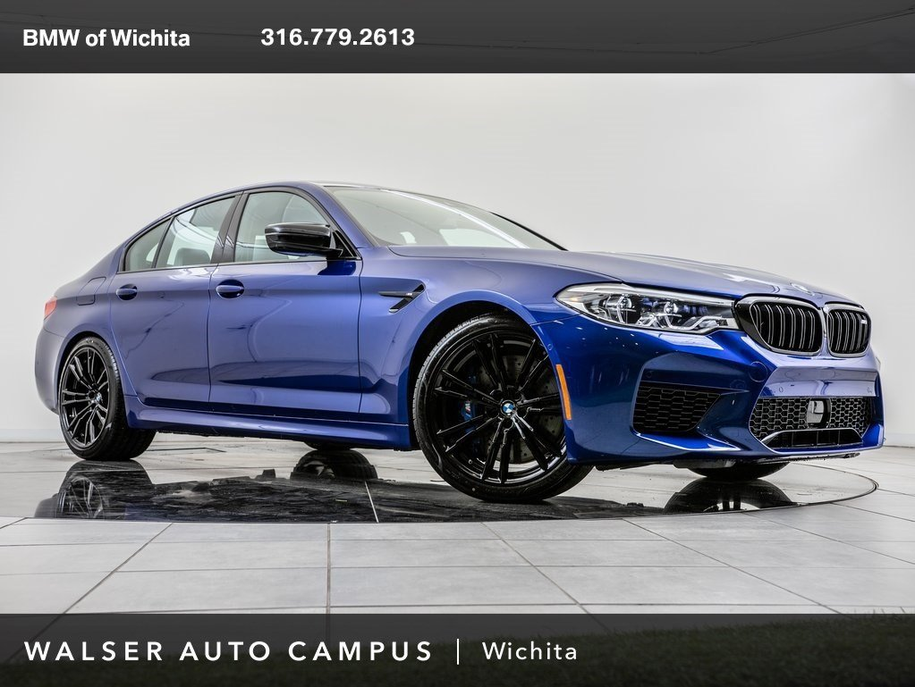New 2019 BMW M5 Competition With Navigation & AWD