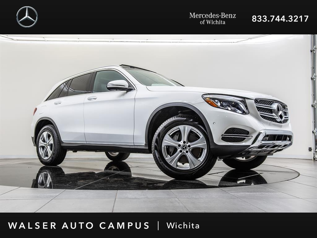 Ex-CVP 2018 Mercedes-Benz GLC GLC 300 4MATIC Navigation, Blind Spot Assist AWD