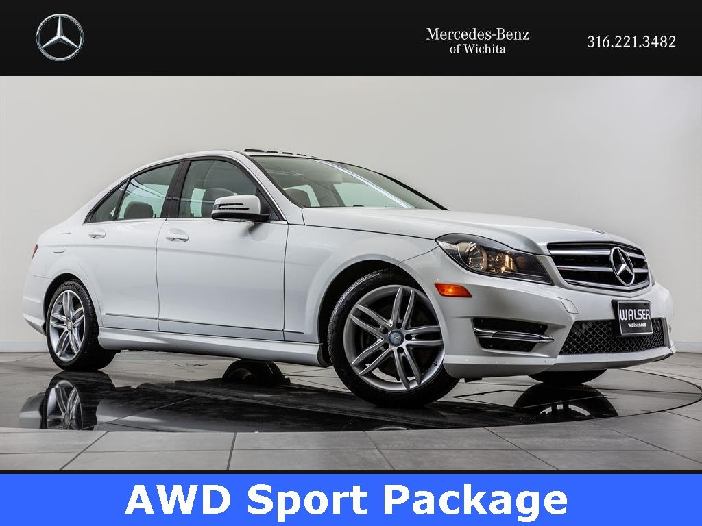 Pre Owned 2014 Mercedes Benz C Class C300 Sport 4MATIC®, Navigation