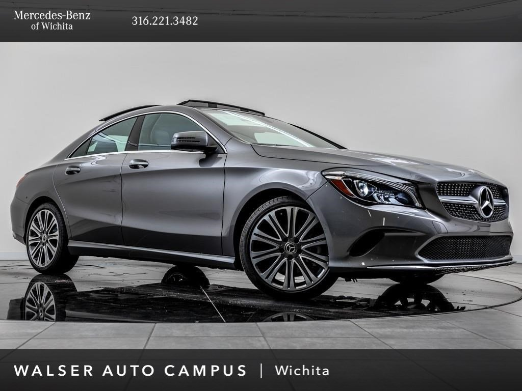 new 2019 mercedes benz cla cla 250 coupe in wichita. Black Bedroom Furniture Sets. Home Design Ideas