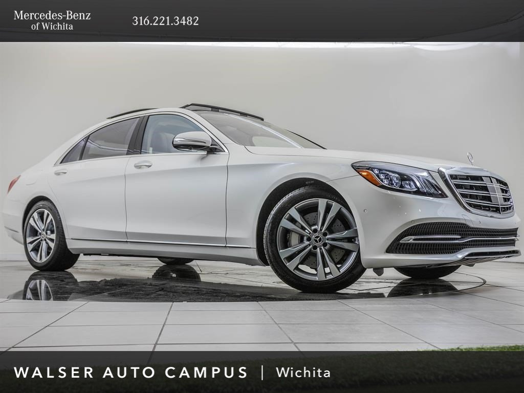 2020 Mercedes-Benz S-Class S 560 4MATIC Sedan