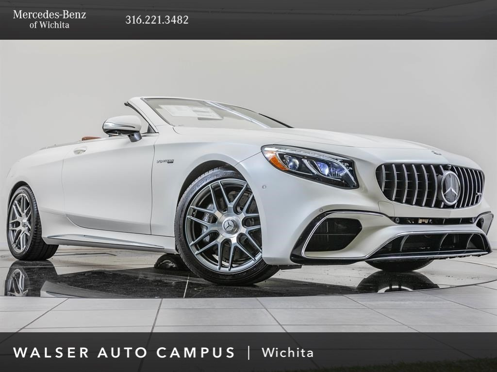 New 2019 Mercedes-Benz AMG® S 63 AWD 4MATIC®