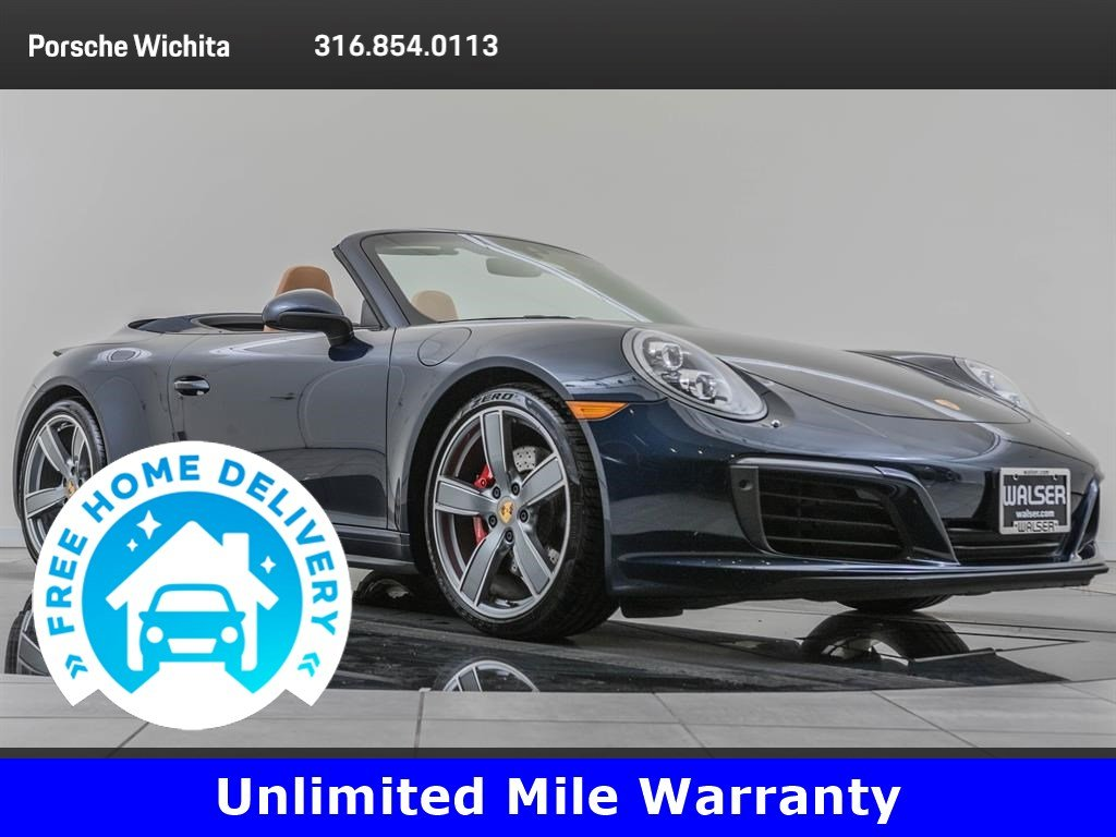 Certified Pre-Owned 2017 Porsche 911 Carrera 4S Premium Package Plus