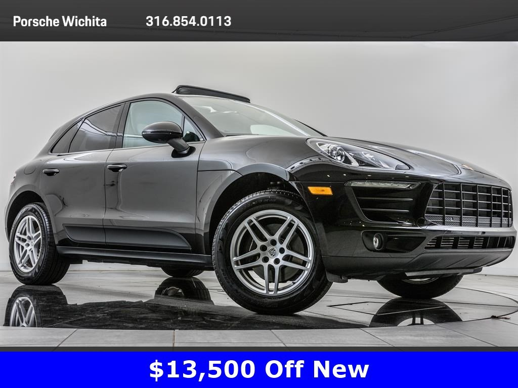 Pre Owned 2018 Porsche Macan Premium Package Plus Navigation Sport