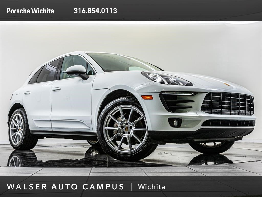 Pre Owned Factory >> Pre Owned 2017 Porsche Macan S Factory Wheel Upgrade Awd