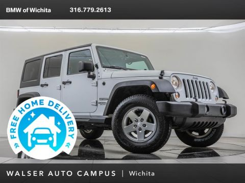 Pre-Owned 2014 Jeep Wrangler Unlimited Sport S Package 24S