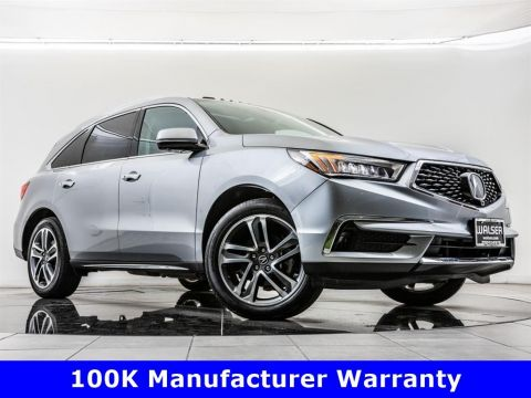 Certified Pre-Owned 2017 Acura MDX SH-AWD w/Advance Pkg, 100K Manufacturer Warranty