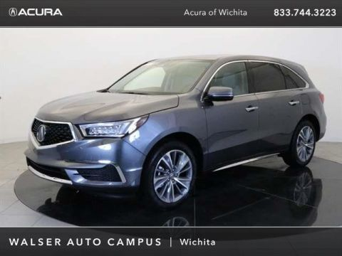 New 2018 Acura MDX w/Technology Package With Navigation & AWD