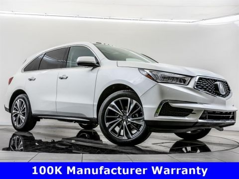 Certified Pre-Owned 2019 Acura MDX SH-AWD w/Technology Package