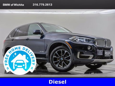 Pre-Owned 2017 BMW X5 xDrive35d, Driving Assistance Plus Package