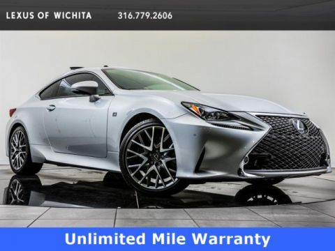 Certified Pre-Owned 2017 Lexus RC F Sport, Navigation