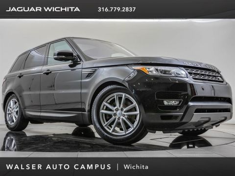 Pre-Owned 2016 Land Rover Range Rover Sport SE, Black On Black