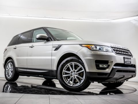 Certified Pre-Owned 2015 Land Rover Range Rover Sport Fixed Panoramic Roof, Navigation, Blind Spot Mon