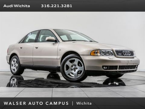 Pre-Owned 2001 Audi A4 2.8 quattro, Moonroof, Audi Audio, Leather