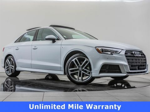 Certified Pre-Owned 2018 Audi A3 Sedan 2.0 TFSI Prem Plus quattro, Navigation