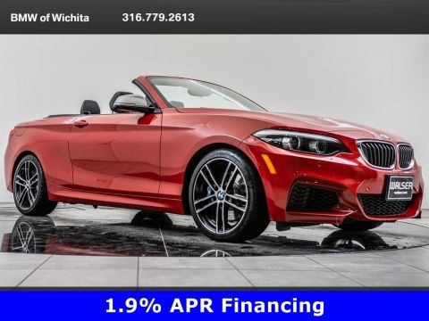 Pre-Owned 2018 BMW 2 Series M240i xDrive, M Wheels, Convertible, Apple CarPlay