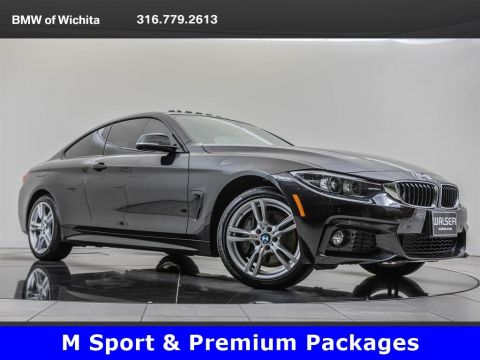 Pre-Owned 2018 BMW 4 Series 430i xDrive, M Sport Package