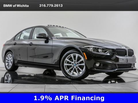 Certified Pre-Owned 2018 BMW 3 Series 320i xDrive, Unlimited Mile Warranty