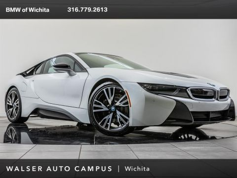 Pre-Owned 2017 BMW i8 Giga World, 20 BMW Whls, LED Hdlts, Head-Up Disp
